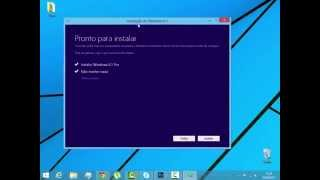 Tutorial • 03 |Como Formatar seu PC e Instalar Windows 8.1 Pro (Sem CD ou Pendrive) 2016
