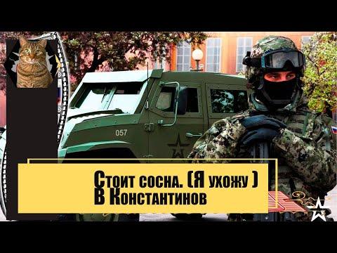 Стоит сосна. (Я ухожу ) В. Константинов.