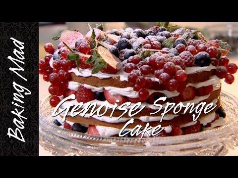 Cake Recipe Genoise Cake Recipe Mary Berry