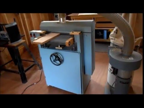 Homemade Drum Sander Part 4 of 4