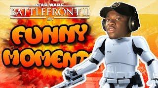 Star Wars Battlefront 2 FUNTAGE [Funny Moments Montage] #5 - BIG SHAQ!