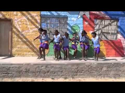 Children Perform Traditional South African Dance