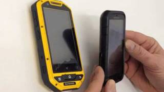 JCB Android Phone vs New Durrocomm Oberon Rugged Phone