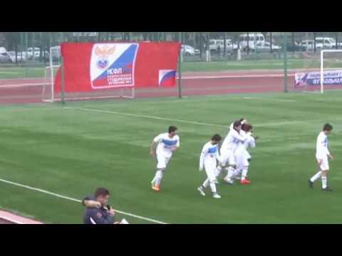 Два гола сборной КБГУ в ворота ЧГПУ (г.Чебоксары)