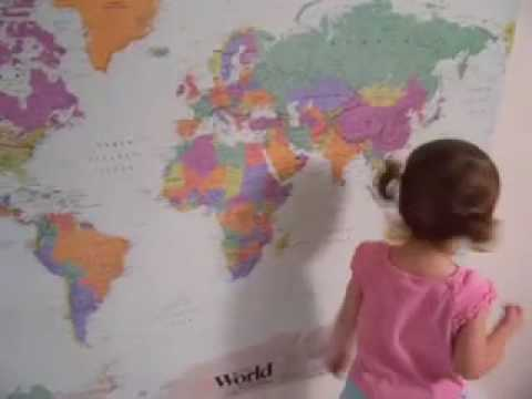 The Original Video of Lilly: The World Map Master Video
