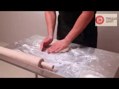Как приготовить пиццу с грибами - видео