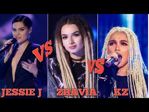 JESSIE J VS. ZHAVIA VS. KZ PERFORMS KILLING ME SOFTLY