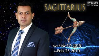 Sagittarius Weekly Horoscope from Sunday 17th to Saturday 23rd February 2019