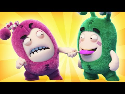 Oddbods - HARD CANDY | NEW Full Episodes | Funny Cartoons For Children | Oddbods & Friends