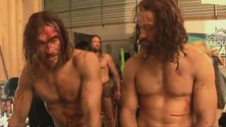 SPARTACUS tv show - BEHIND THE SCENES - Blood & Sand Season 1
