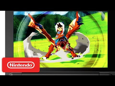 Monster Hunter Stories - Official Nintendo 3DS Trailer