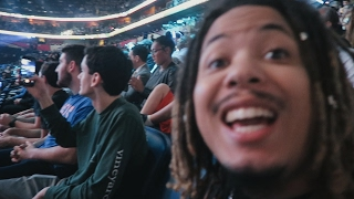 WE FINESSED DOPE SEATS TO THE NBA ALL STAR GAME !!!