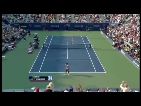 [HL] Justine Henin vs. Venus Williams 2007 US Open [SF]