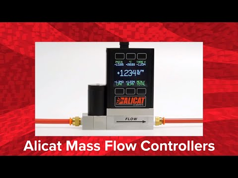 Mass Flow Controllers from Alicat
