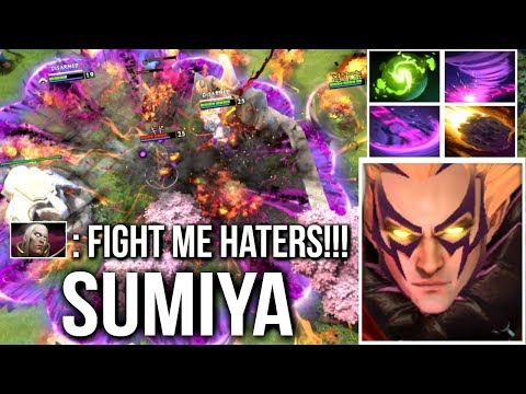 SumiYa Invoker Legend - Epic Combo with Refresher Try Hard Gameplay Dota 2