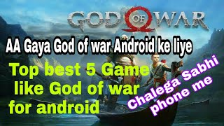 Top best 5 God of War Releted game for android