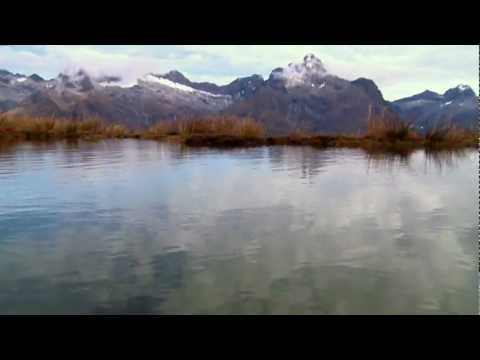 New Zealand Travel. Routeburn Track. Fiordland National Park, Southland, New Zealand.