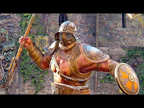 For Honor - Gladiator & Highlander Gameplay Trailer (New Classes)