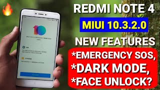 Redmi note 4 Miui 10.3.2.0 new stable update rolling out | new features | Redmi note 4 new update