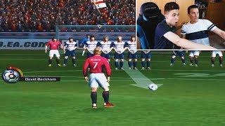 TIROS LIBRES DESDE FIFA 94 AL FIFA 18 (REACCIONANDO CON FRAN) [ByDiegoX10]