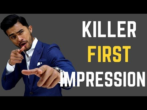 How to make a KILLER First Impression  IMPRESS Your Crush Boss or Friends