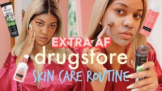 My Extra DRUGSTORE Skin Care Routine for Back to School!!