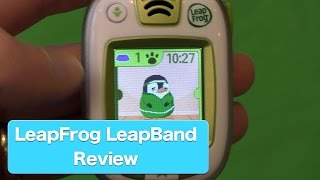 LeapFrog LeapBand Review, Fitness and Activity Tracker For Kids