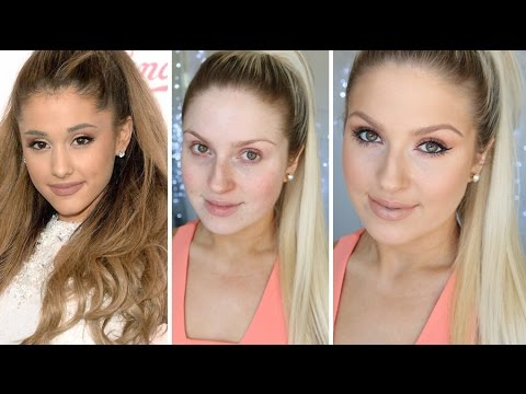 Ariana Grande Back To School Makeup! ♡ Drugstore Tutorial
