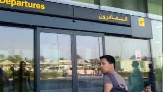 Departure from Airport Terminal 2 Dubai.mp4
