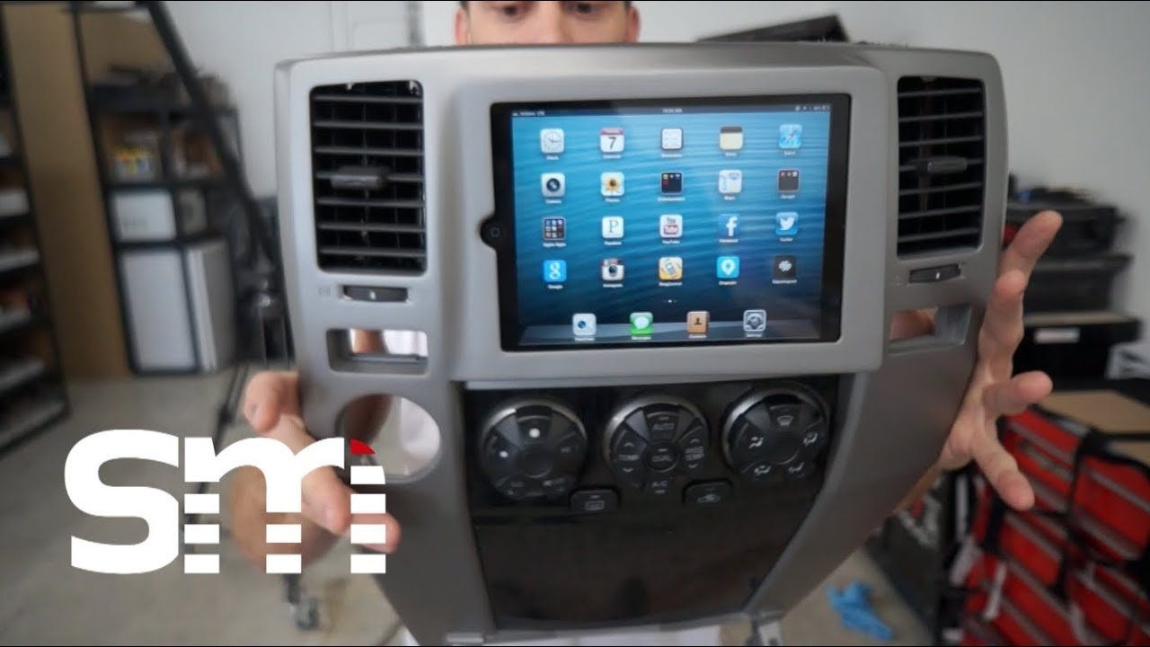 Ipad Mini Toyota 4runner Dash Mount Install Soundman