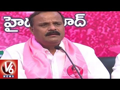 MLC Karne Prabhakar Slams Central Govt And TBJP For Its Jana Chaitanya Yatra | V6 News