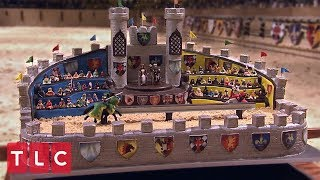 A Castle Cake Fit for a King  | Cake Boss