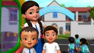Salege Hogona Ba - School Song | Kannada Rhymes for Children | Infobells