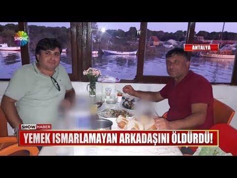 Yemek ısmarlamayan arkadaşını öldürdü!