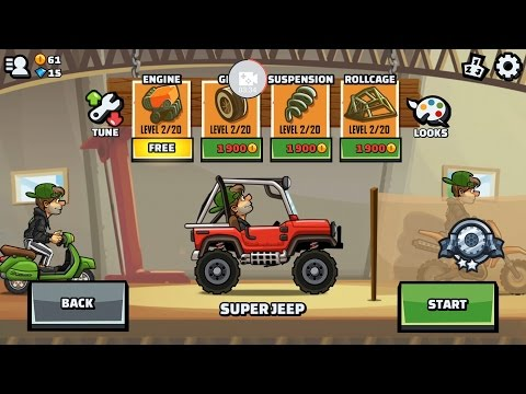 Hill Climb Racing 2 Review!
