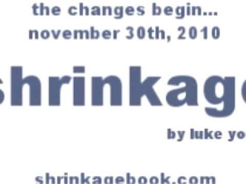 Shrinkage Book Trailer