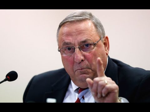 Maine Governor: D-Money Impregnating Our White Daughters!