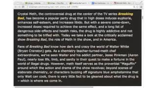 Beginners - English Past Continuous, TV & Film (Breaking Bad), Beginner/Intermediate
