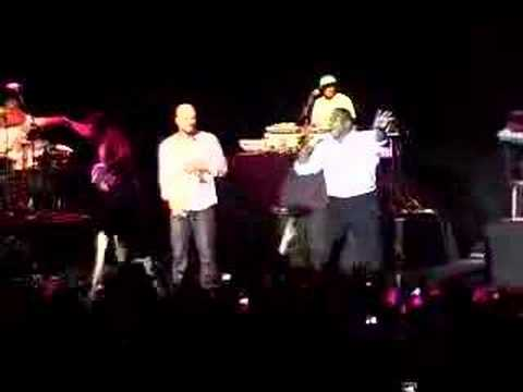 COMMON, Q-Tip & KRS1 On Stage w/ Freestyle Session