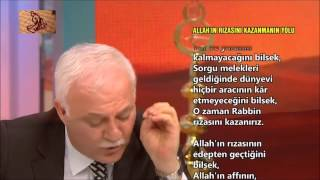 Allahin rizasini nasil kazanirim, Nihat Hatipoglu