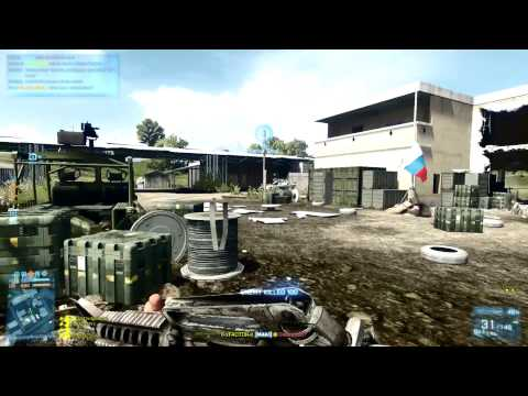 The Most Random One Life Ever - Armored Kill Battlefield 3 Gameplay