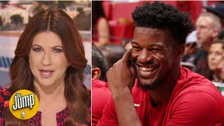 Jimmy Butler's Heat debut showed he's ready for a real run in Miami - Rachel Nichols | The Jump