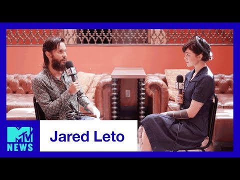 Jared Leto Talks Thirty Seconds to Mars, Walk on Water & VMAs  MTV News