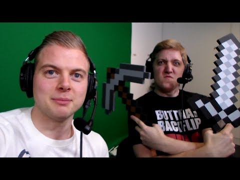 Squid And Stampy In Yogtowers