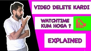 Video Delete Watch Time