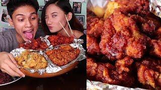 Korean Fried Chicken MUKBANG   24chickenph