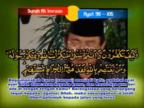 H.chumaedi Hambali - Surah Al'imran Ayat 95-105 ( Qori Internasional ) video