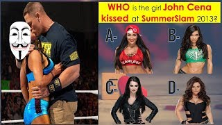 WWE QUIZ - You'll Never Get 100% On This WWE Kissing Challenge -Part 2 [HD]