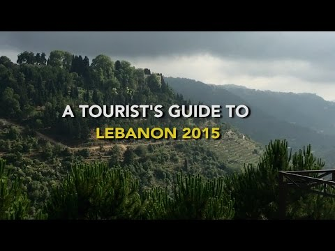 A Tourist's Guide To Lebanon 2015 - Al Chouf