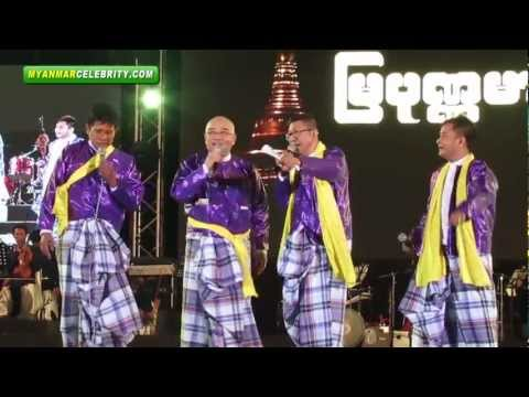 People's Voice A Nyeint @ People's Park in Yangon - Part 1